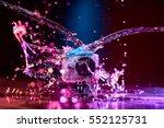 concept  gear  gadget  action... | Shutterstock . vector #552125731