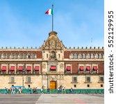 mexico city mexico   december...   Shutterstock . vector #552129955