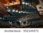 Inside A 19th Century Organ...