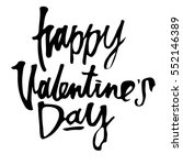 happy valentines day... | Shutterstock .eps vector #552146389