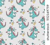 seamless vector  pattern of... | Shutterstock .eps vector #552169759
