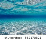 under water picture.blue water... | Shutterstock . vector #552170821