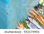 Fresh Seafood And Fish Flat La...