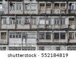 abandoned residential building... | Shutterstock . vector #552184819