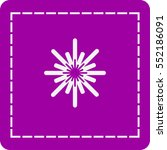 icon of snowflake | Shutterstock .eps vector #552186091