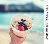 Acai Bowl Food Selfie Picture....