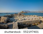 saint stefanos ancient temple...   Shutterstock . vector #552197401
