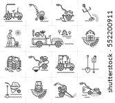 modern line icons of...   Shutterstock . vector #552200911