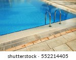 A Steps In Blue Water Pool