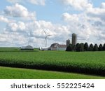wind mill farm | Shutterstock . vector #552225424