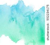 abstract watercolor art hand... | Shutterstock . vector #552234175