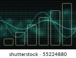 business charts concept diagram ... | Shutterstock . vector #55224880