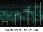 business charts concept diagram ... | Shutterstock . vector #55224880
