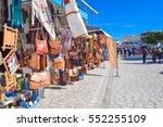houmt el souk djerba tunisia  ... | Shutterstock . vector #552255109