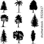 vector illustration of tree... | Shutterstock .eps vector #5522617