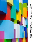 abstract colorful architectural ... | Shutterstock . vector #552267289