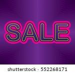 sale background | Shutterstock .eps vector #552268171