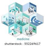 isometric flat interior of... | Shutterstock .eps vector #552269617