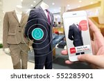 smart retail and marketing... | Shutterstock . vector #552285901