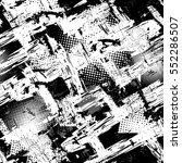 abstract seamless grunge... | Shutterstock .eps vector #552286507