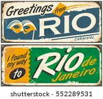 Rio De Janeiro  Greetings From...