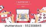 vector illustration. flat... | Shutterstock .eps vector #552308845