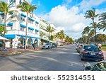 miami beach  florida usa  ... | Shutterstock . vector #552314551