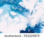 blue creative abstract hand... | Shutterstock . vector #552329875