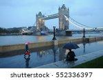 tower bridge people with... | Shutterstock . vector #552336397