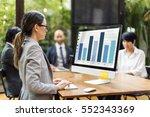 business strategy corporation...   Shutterstock . vector #552343369