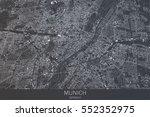 map of munich of bavaria ... | Shutterstock . vector #552352975