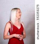a pair of blond same sex lovers. | Shutterstock . vector #552353275