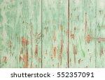 Vintage Green Wood Background.