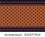 geometric ethnic pattern... | Shutterstock .eps vector #552377914