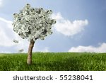 Photo Of Money Tree Made Of...