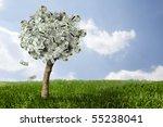 Photo Of Money Tree Made Of...