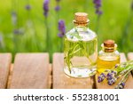 aroma essential spa oil and... | Shutterstock . vector #552381001