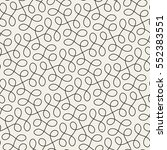 seamless linear pattern with... | Shutterstock .eps vector #552383551