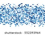 abstract squares background.... | Shutterstock .eps vector #552393964