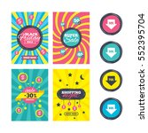 sale website banner templates.... | Shutterstock . vector #552395704