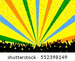 a crowd of people. vector... | Shutterstock .eps vector #552398149