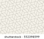 seamless linear pattern with... | Shutterstock .eps vector #552398599