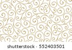seamless abstract linear... | Shutterstock .eps vector #552403501