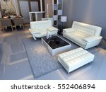 3d rendering home interior  | Shutterstock . vector #552406894