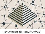 vector brochure or report... | Shutterstock .eps vector #552409939