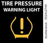 tire pressure dtc code warning... | Shutterstock .eps vector #552413749