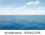 blue sea and blue sky... | Shutterstock . vector #552421339