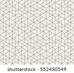 seamless linear pattern with... | Shutterstock .eps vector #552430549