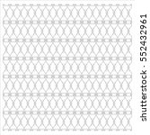 floral heart pattern vector... | Shutterstock .eps vector #552432961