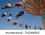chains carousel at the... | Shutterstock . vector #55244041